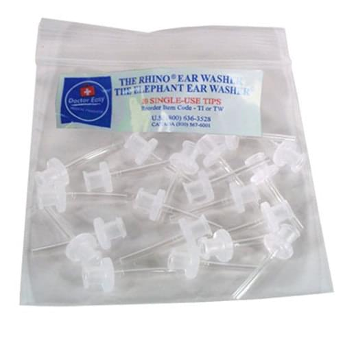 Elephant Ear Wash Tips - 20/package Fits 100-EW