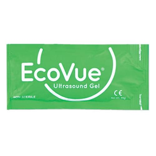 EcoVue Ultrasound Gel Non Sterile 20g Packet - Box of 100