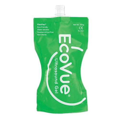 EcoVue Ultrasound Gel 250ml (8oz) Flex Pack