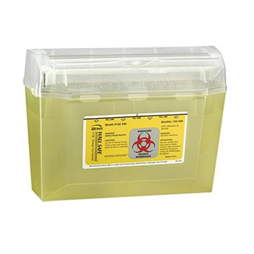 Bemis& Wallsafe® Sharps Container 3 Quart Yellow
