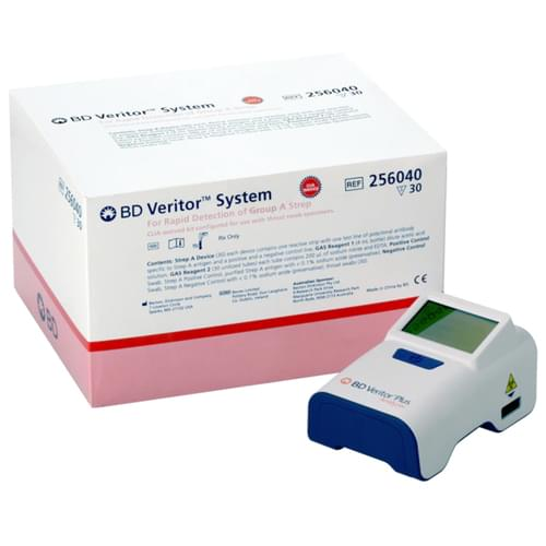 BD Veritor™ System for Rapid Detection of Group A Strep CLIA-Waived Kit - 30 Tests/Box