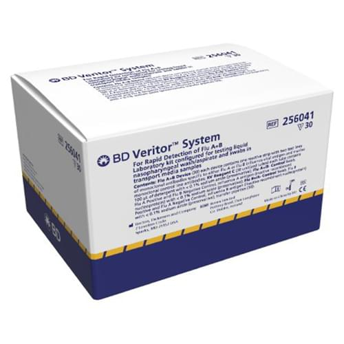 BD Veritor™ System for Rapid Detection of Flu A+B Laboratory Kit - 30 Tests/Box