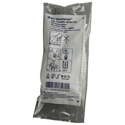 BD Vacutainer C&S Transfer Straw Kit
