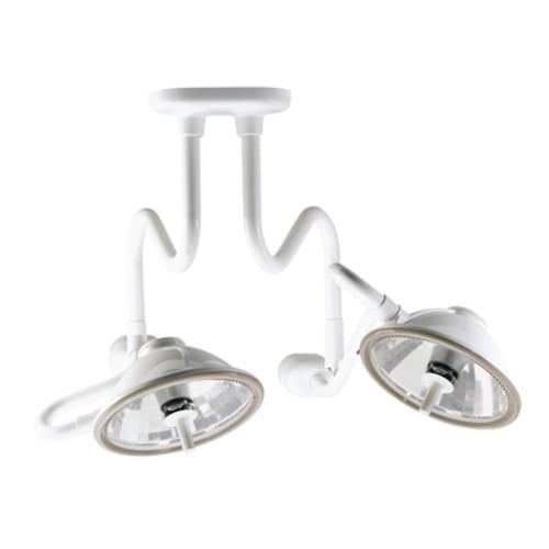 Midmark Ritter 355 Dual 8' Ceiling Minor Surgery Light