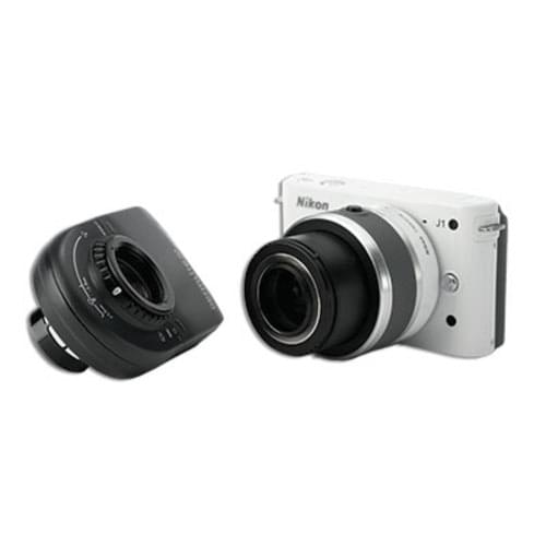<p>This package is all you need to turn your DermLite II / III into a digital dermoscopy powerhouse. Includes MagnetiConnect®, a magnetic adapter that lets you quickly attach and detach your DermLite.</p> <li>Includes 11-27.5mm Lens <li>14.2-megapixel, CX-format CMOS sensor <li>Waterproof up to 49' <li>Shooting speeds up to 60 fps <li>Hybrid autofocus system <li>GPS capability