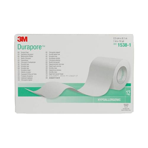 Durapore Surgical Tape, Silk-like cloth