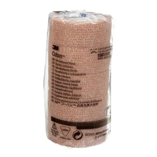 "3M Coban Self-Adherent Wrap 1"" x 5 Yards"