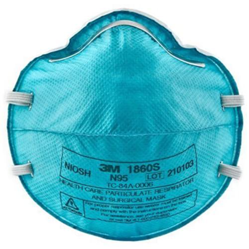 3M N95 Mask Model 1860S - Small 20/box