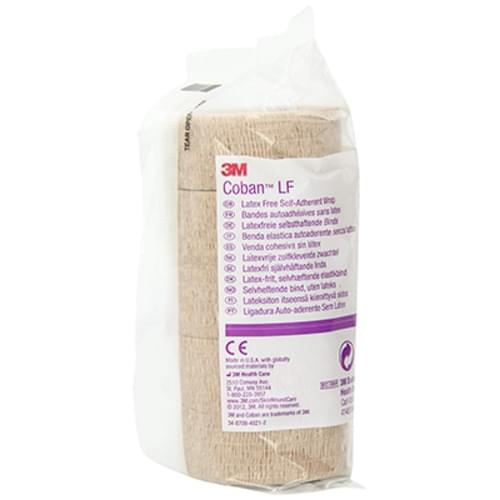 3M Coban Latex Free Self-Adherent Wrap 1""