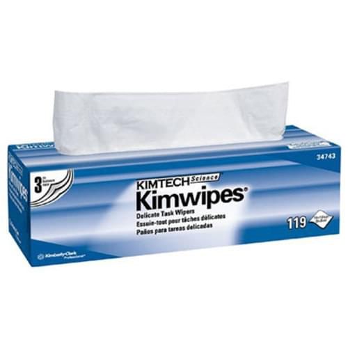 Kimwipes Delicate Task Wipes - 119/box