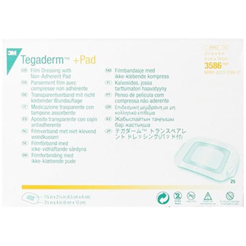 "3M Tegaderm +Pad Film Dressing 3.5"" X 4"""