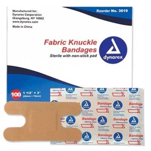 Fabric Knuckle Dressings 100/box