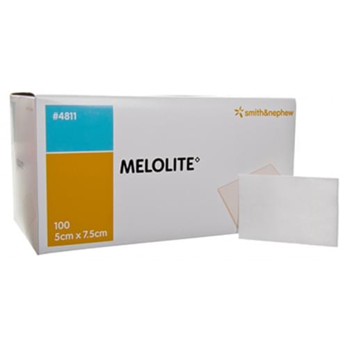 Melolite Low Adherent Absorbent Dressing 5cm X 7.5cm