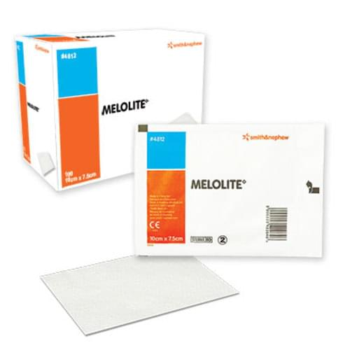 Melolite Low Adherent Absorbent Dressing 10cm X 7.5cm