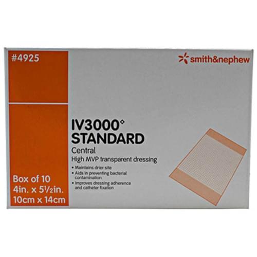 IV3000 Standard Transparent Film Dressing 10cm x 14cm