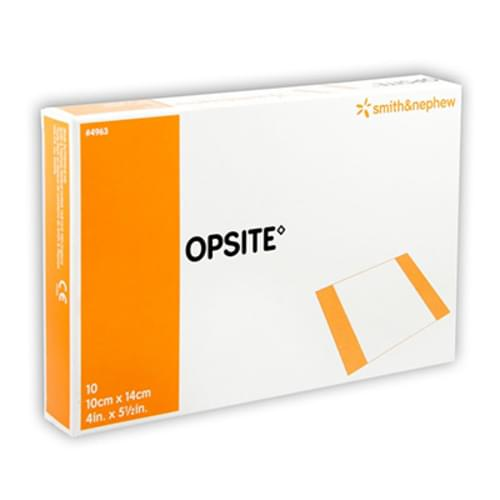 Opsite Transparent Adhesive Dressing 10cm x 14cm