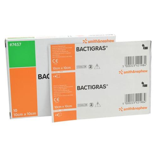 BACTIGRAS Antiseptic Dressing 10cm x 10cm