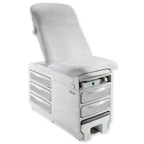 Ritter 204 Manual Exam Table - Stone Upholstery With Heater