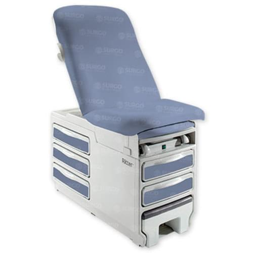 Ritter 204 Manual Exam Table - Oasis Upholstery With Heater