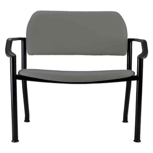 Ritter 282 Side Chair With Arms - Lunar Grey