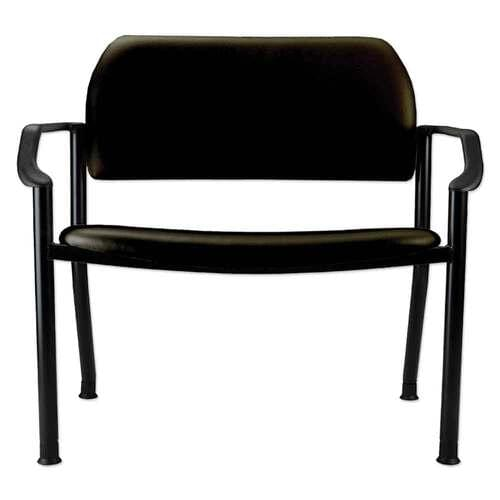 Ritter 282 Side Chair With Arms - Obsidian