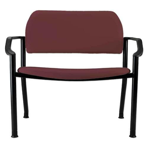Ritter 282 Side Chair With Arms - Cranberry