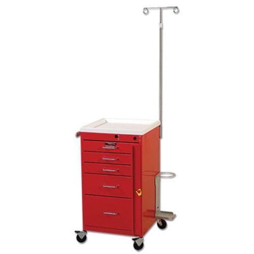 Harloff 5 Drawer Miniline Emergency Cart
