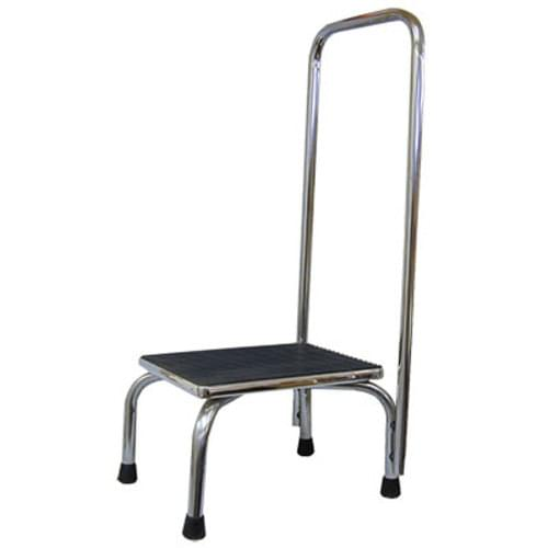 Clinton Patient Step Stool with Hand Rail