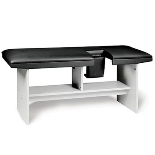 Clinton Echo-Scan Model 4892 Exam Table Black