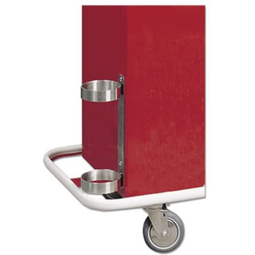 Stainless Steel Oxygen Tank Holder for Harloff Emergency Cart
