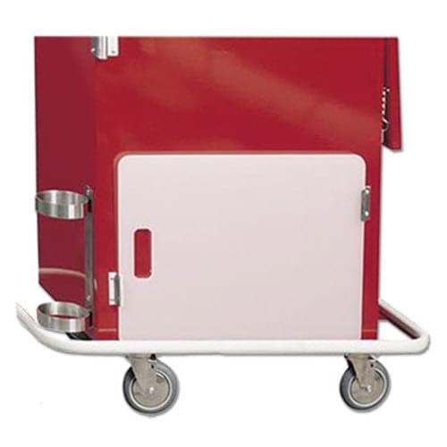Cardiac Board with 3 Brackets for Harloff Emergency Cart