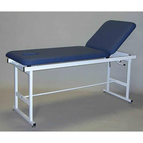 Treatment Table - Metal Construction with Backrest