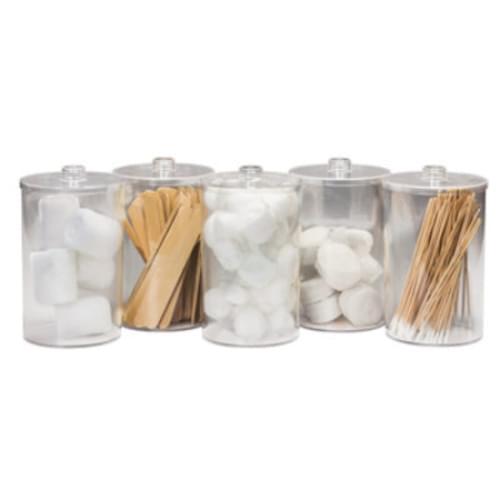 Clear Acrylic Wall Mount Jar Rack