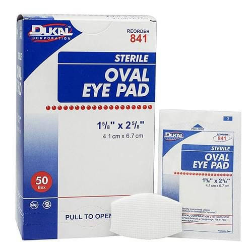 Eye Pads Sterile 50/box