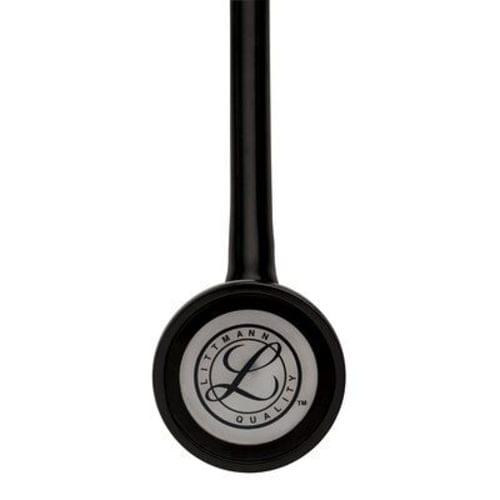 """<p>Reward your achievement with a mark of distinction—the 3M™ Littmann® Master Cardiology™ Stethoscope. With its handcrafted stainless steel chestpiece, this top-of-the-line stethoscope is designed for peak performance. It features a patented tunable diaphragm that conveniently alternates between low and high frequency sounds with a simple change of pressure on the chestpiece.</p> <p><strong>Details</strong></p> <ul> <li>Anatomically designed headset</li> <li>Two-in-one tube design helps eliminates noise from tubes rubbing together</li> <li>Pressure-based sound frequency adjustment with tunable diaphragm</li> <li>Special-procedures adaptor for neonatal or pediatric auscultation included</li> <li>Includes patented snap-tight soft-sealing eartips</li> <li>Non-chill rim and diaphragm</li> <li>Durable design</li> </ul> <p><strong>Specifications</strong></p> <ul> <li>Binaural Construction: Double Lumen</li> <li>Chestpiece Finish: Polished stainless steel</li> <li>Chestpiece Technology: Single-Sided</li> <li>Chestpiece Weight: 3.2 Ounce (90 g)</li> <li>Diaphragm Diameter: 2"""" (5.1 cm)</li> <li>Diaphragm Material: Epoxy/Fiberglass</li> <li>Headset Material: Wide diameter aerospace alloy/anodized aluminum</li> <li>Overall Length: 27"""" (69 cm)</li> <li>Performance: 10</li> <li>Special Adaptors: Yes</li> <li>Tube Colour: Black</li> <li>Warranty: 7 Years</li> </ul>"""