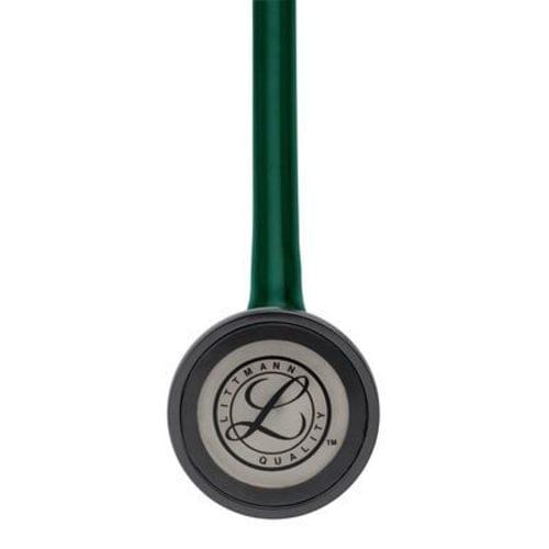 "<p>Reward your achievement with a mark of distinction—the 3M™ Littmann® Master Cardiology™ Stethoscope. With its handcrafted stainless steel chestpiece, this top-of-the-line stethoscope is designed for peak performance. It features a patented tunable diaphragm that conveniently alternates between low and high-frequency sounds with a simple change of pressure on the chestpiece.</p> <p><strong>Details</strong></p> <ul> <li>Anatomically designed headset</li> <li>Two-in-one tube design helps eliminates noise from tubes rubbing together</li> <li>Pressure-based sound frequency adjustment with tunable diaphragm</li> <li>Special-procedures adaptor for neonatal or pediatric auscultation included</li> <li>Includes patented snap-tight soft-sealing eartips</li> <li>Non-chill rim and diaphragm</li> <li>Durable design</li> </ul> <p><strong>Specifications</strong></p> <ul> <li>Binaural Construction: Double Lumen</li> <li>Chestpiece Finish: Machined Stainless Steel</li> <li>Chestpiece Technology: Single-Sided</li> <li>Chestpiece Weight: 3.2 Ounce (90 g)</li> <li>Diaphragm Diameter: 2"" (5.1 cm)</li> <li>Diaphragm Material: Epoxy/Fiberglass</li> <li>Headset Material: Wide diameter aerospace alloy/anodized aluminum</li> <li>Overall Length: 27"" (69 cm)</li> <li>Performance: 10</li> <li>Special Adaptors: Yes</li> <li>Tube Colour: Hunter Green</li> <li>Warranty: 7 Years</li> </ul>"
