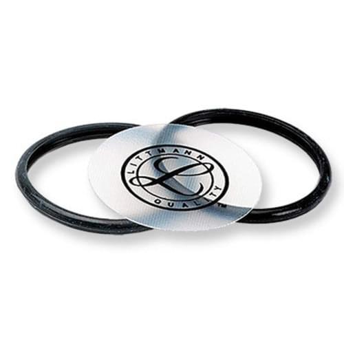 <li> One tunable diaphragm <li> One black rim <li> One gray rim