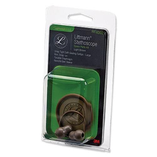 3M Littmann Stethoscope Spare Parts Kit - Lightweight II S.E. - Light Brown