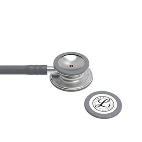 "<p>The latest version of the stethoscope that helps millions of medical professionals achieve their best. The 3M™ Littmann® Classic III™ Stethoscope offers high acoustic sensitivity for exceptional performance, a versatile two-sided chestpiece with tunable diaphragms that let clinicians hear different frequency sounds by simply adjusting the pressure, snap-tight, soft-sealing eartips, and resilient next-generation tubing that retains its shape and flexibility. Ideal for students and medical professionals alike.</p> <p>The 3M™ Littmann® Classic III™ Stethoscope combines high acoustic sensitivity with a versatile, two-sided chestpiece for exceptional performance. Listen to, identify, and diagnose even the most subtle body sounds through the power of tunable diaphragm technology. Simply hold the chestpiece with light pressure to hear low-frequency sounds and increase pressure incrementally to hear higher-frequency sounds. Designed to be resilient, the 3M™ Littmann® Classic III™ Stethoscope is also built to withstand the rigours of healthcare. Made without natural rubber latex, the resilient, next-generation tubing retains its shape and flexibility even after folding tightly into a pocket. Similarly, its materials improve stethoscope lifespan with enhanced resistance to skin oils and alcohol. For everything that healthcare throws at you, turn to the 3M™ Littmann® Classic III™ Stethoscope.</p> <p><strong>Details</strong></p> <ul> <li>Monitor and assess a wide range of patients</li> <li>Single-piece tunable diaphragm is easy to attach, and easier to clean because its surface is smooth without crevices</li> <li>Pediatric side converts to a traditional open bell by replacing the single-piece diaphragm with a non-chill rim</li> <li>Next-generation tubing provides longer life due to improved resistance to skin oils and alcohol</li> <li>Stainless steel chestpiece is precision-machined into an aesthetically pleasing, less angular shape; the stem features open side indicator</li> <li>Snap-tight eartips have a soft, smooth surface providing a comfortable acoustic seal and comfortable fit</li> <li>Not made with natural rubber latex or phthalate plasticizers</li> <li>Five-year warranty</li> </ul> <p><strong>Specifications</strong></p> <ul> <li>Binaural Construction: Single lumen</li> <li>Chestpiece Finish: Machined Stainless Steel</li> <li>Chestpiece Technology: Double-Sided</li> <li>Chestpiece Weight: 2.9 Ounce (82 g)</li> <li>Diameter: 1.7"" (4.3 cm)</li> <li>Diaphragm Diameter: 1.7"" (4.3 cm)</li> <li>Diaphragm Material: Epoxy/Fiberglass</li> <li>Headset Material: Wide diameter aerospace alloy / anodized aluminum</li> <li>Length: 27"" (69 cm)</li> <li>Performance: 7</li> <li>Small Diaphragm Diameter: 1.3"" (3.3 cm)</li> <li>Tube Colour: Grey</li> <li>Warranty: 5 years</li> </ul>"