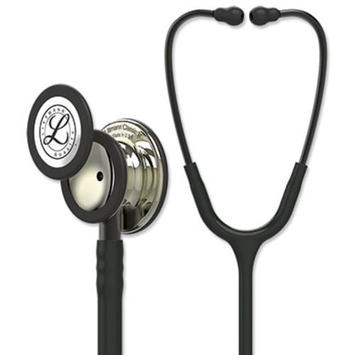 Littmann Classic III Stethoscope With Champagne Chestpiece - Black Tube