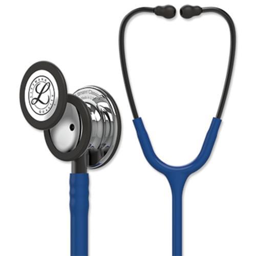 Littmann Classic III Stethoscope With Mirror Chestpiece - Navy Blue Tube