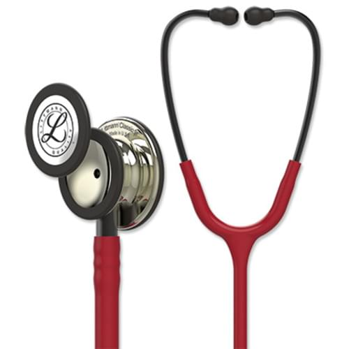 Littmann Classic III Stethoscope With Champagne Chestpiece - Burgundy Tube