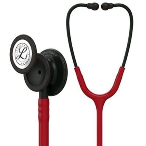 Littmann Classic III Monitoring Stethoscope With Black Chestpiece - Burgundy Tube