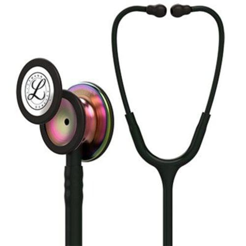 Littmann Classic III Monitoring Stethoscope With Rainbow Chestpiece - Black Tube