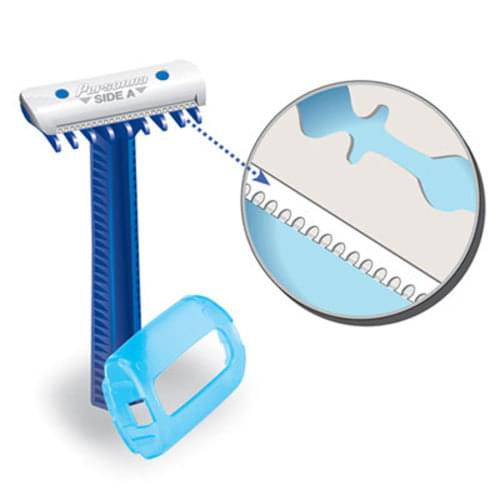 DermaGard® Safety Razors With Comb - Double Edge 100/box