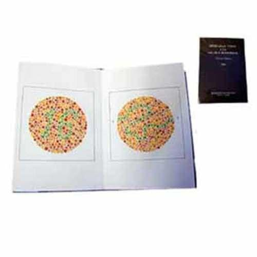 Ishihara Colour Blindness Test Cards