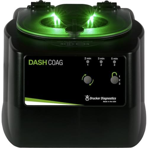Drucker DASH Coag Set-And-Lock STAT Coag Centrifuge