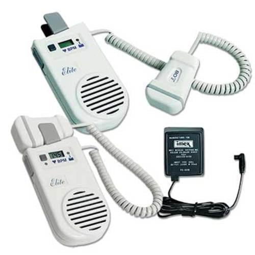 <b>Features:</b> <ul> <li> Configurable, ultrasound Doppler used to detect the fetal heartbeat and to assist in monitoring peripheral arterial and venous blood flow</li> <li> Static Suppression Doppler technology provides a clear static-free sound</li> <li> Large built-in speaker or optional headset provide reliable sound that can be heard both publicly or privately</li> <li> Comfortable shape of the 5 MHz vascular probe is easy to hold and features broad-beam technology makes it very easy to find and lock onto the signal of interest</li> <li> Digital heart rate display for both obstetric and vascular applications</li> <li> This model comes with a rechargeable 9V NiMH battery</li> <li> Ask for our optional recharger </li> <li> <strong>5 years parts and 1 year labor warranty from VIASYS</strong></li> </ul>
