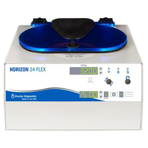 Drucker HORIZON 24 Flex Programmable Routine Centrifuge