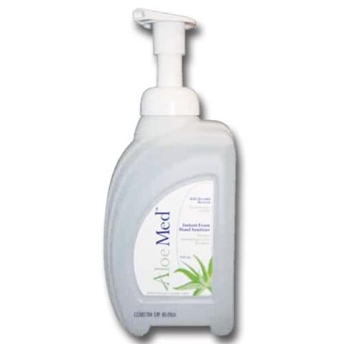 <p>Aloe Med™ Foam Hand Sanitizer gently but effectively kills bacteria, significantly reducing the spread of infections. Formulated specially for the health care industry, this product soothes and cleans with its unique combination of healing and moisturizing properties.</p> <ul> <li>Contains 72% Ethanol</li> <li>Contains aloe extract</li> </ul>